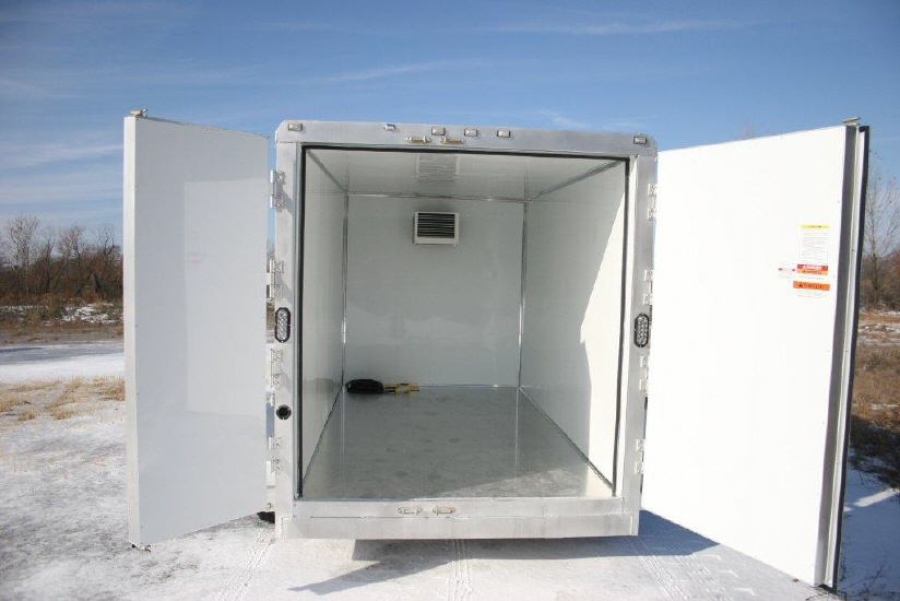 Portable Freezer Trailer : Mobile refrigerated trailer portable applications govi usa