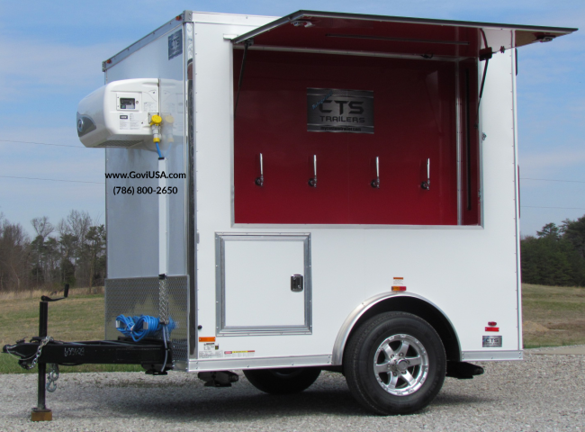 Refrigerated Trailer For Beer Keg Trailer Party Trailer
