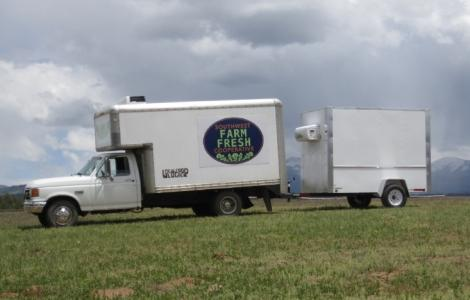 Farm Coop Cooler Trailer
