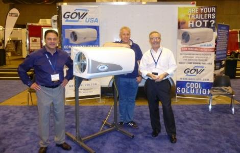 GOVI USA Cooler Trailer at NATDA show