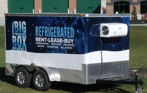 Refrigerated Rental Trailer