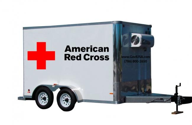 Refrigerated Trailer for Hospitals
