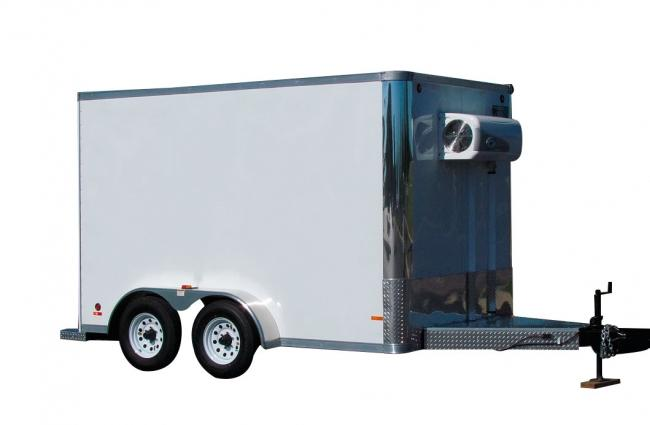 Refrigerated Trailer for Food processors