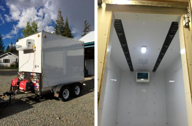 This GOVI USA arktik 2000US Trailer Refrigeration unit is awesome!