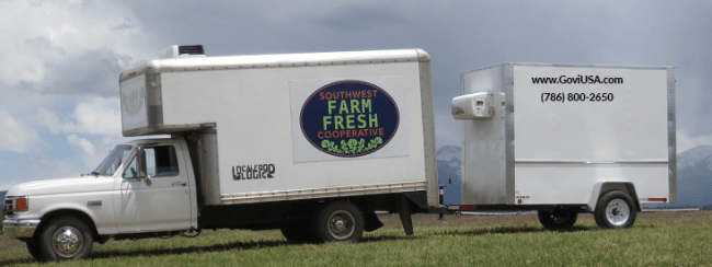 Refrigerated Trailer for Supermarkets